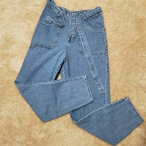 Forever 21 high waist cropped jeans!